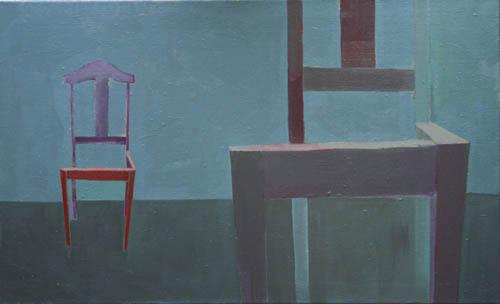 2006, Wspomnienie Wroblewskiegoolej na plotnie, 90x55cm