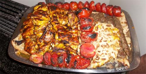 Festliches Essen
