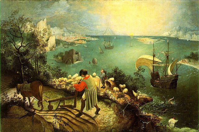 640px-Bruegel,_Pieter_de_Oude_-_De_val_van_icarus_-_hi_res