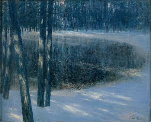 Waldsee_im_Winter_(1892)