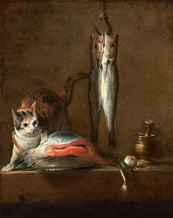 chardin-kot-ryby