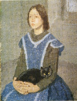 Gwen John (British painter, 1876-1939-kot