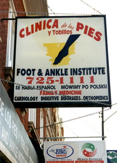 Clinica de los pies