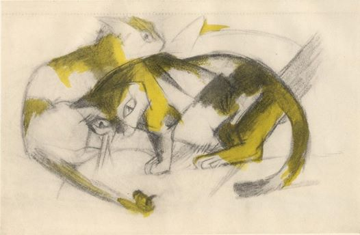 FranzMarc-two-cats.1912-1914