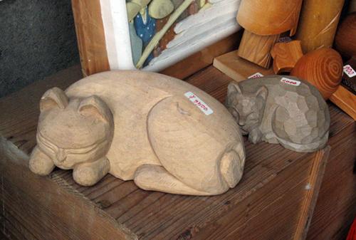 Nikko koty w sklepie