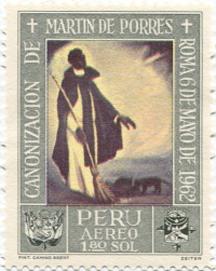 Peru.Martin de Porres.1965