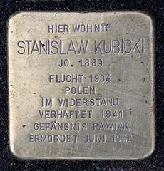 StolpersteinStanislaw_Kubicki