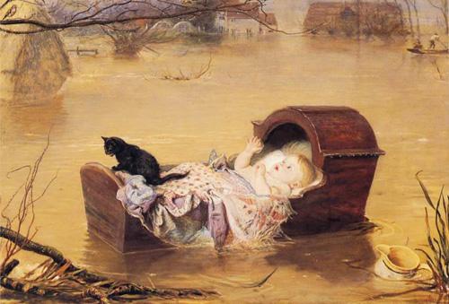 John Everett Millais-kot