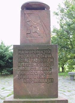 2 Pomnik z napisem luzyckim