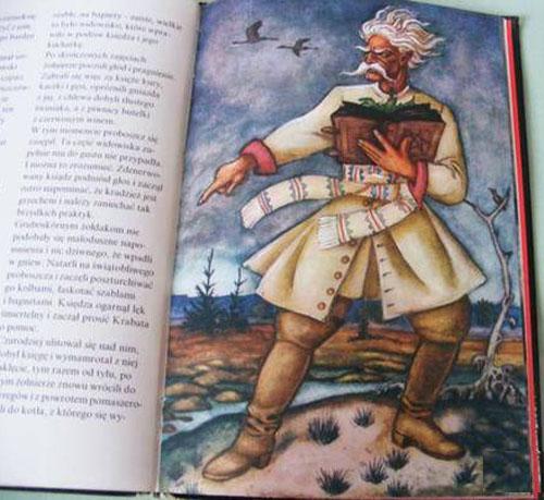 6 Krabat ilustracja