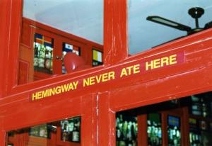 Hemingway w Madrycie