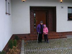 Emilka z babcia Tereska