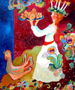 Santa Lucia - Sharon Furner
