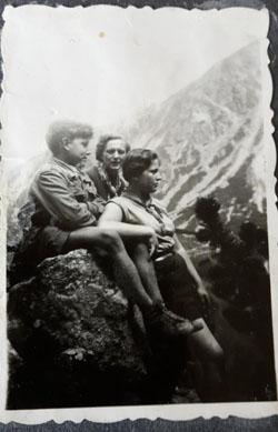 W Tatrach z ciocia Tereska