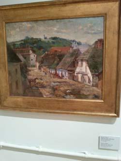 Hirszenberg_Uliczka w Kazimierzu