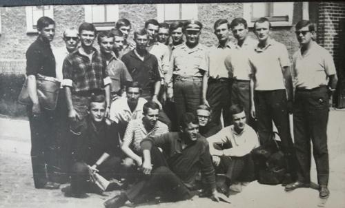 04Major Bednarski i jego studenci