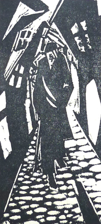 BUNT Skotarek W, Le Flaneur c 1919