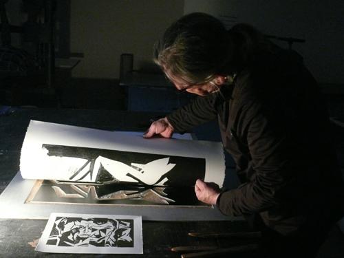 prof Bobrowski A pracuje nad LOGO wystawy 2015