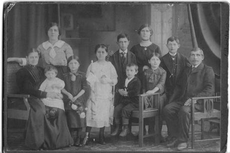 Rodzina Hamplów-rok 1914