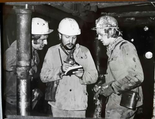 W kopalni Siemianowice- reportaz