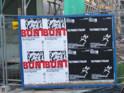 1 BUNT Dresden Plakate