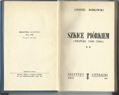 2._Bobkowski_Szkice_Piorkiem_1