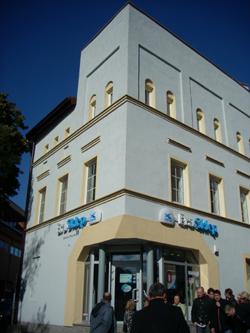Olsztyn.budynek starej synagogi obecnie