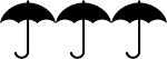 black-clip-umbrella