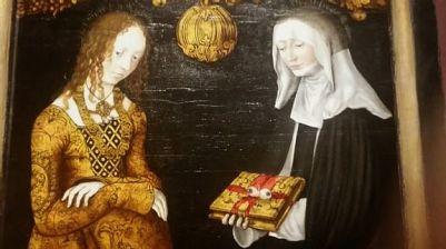 Saints Christina and Ottilia (1506) – Lucas Cranach the Elder