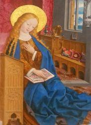 The Annunciation (1465-1490) – Master of Liesborn