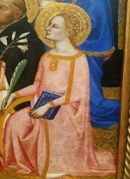 The Coronation of the Virgin with Adoring Saints – Jacopo di Cione (1370-1371)