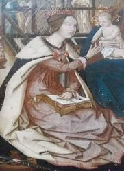 The Mystic Marriage of Saint Catherine (early 16th c.) – Unknown Portuguese