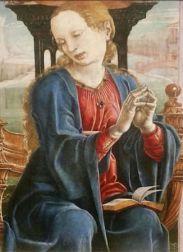 Virgin Annunciate (1475-1480) – Cosimo Tura